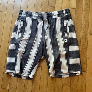 Men's terry cotton shorts